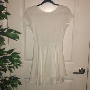 White skater dress 💐 (NWT)